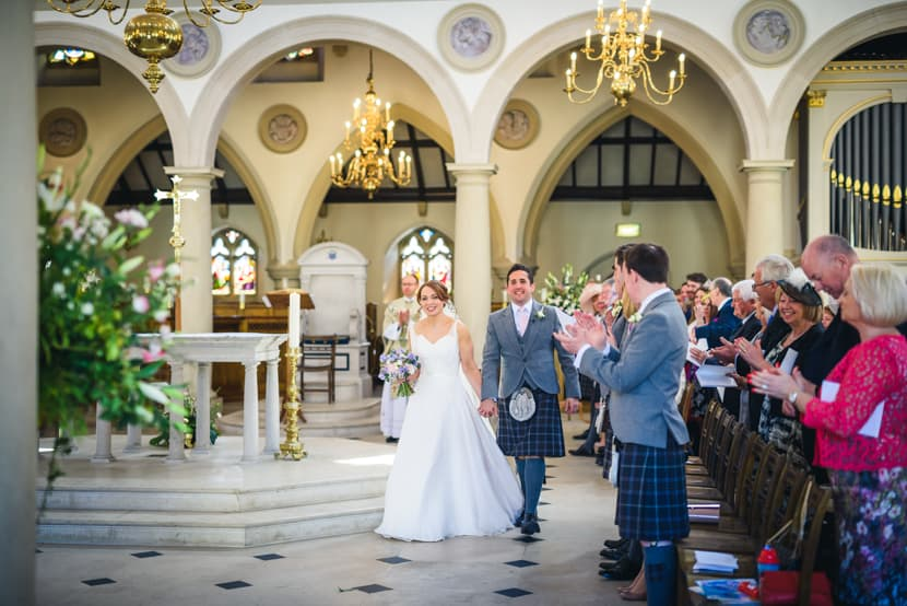 Brentwood Cathedral and Gaynes Park Wedding 012