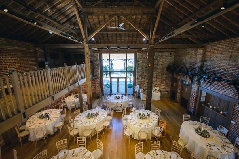 Brentwood Cathedral and Gaynes Park Wedding 024
