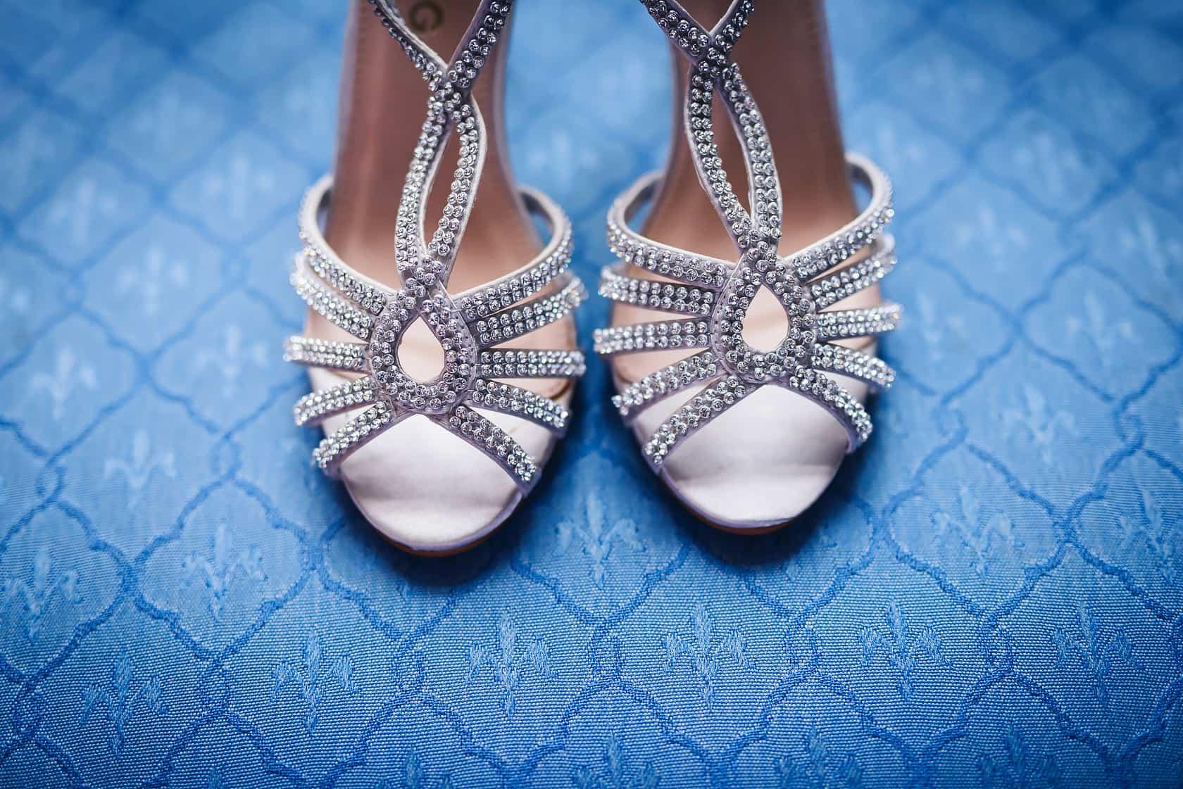 elaborate wedding shoes